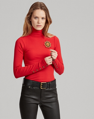 Crest Turtleneck Jumper