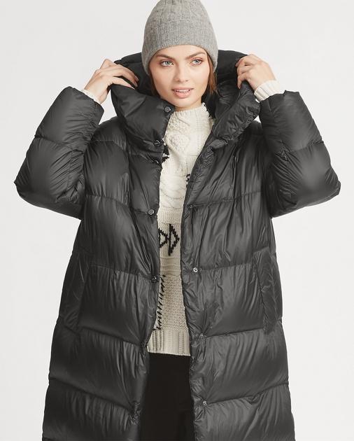 Long Hooded Down Coat a59281e9644f