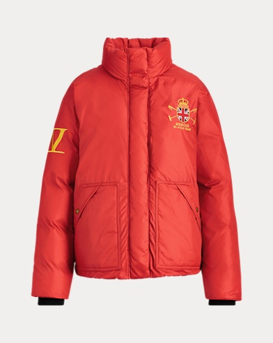 Polo Graphic Down Jacket
