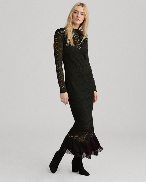 85f667328d Pointelle-Stitched Dress