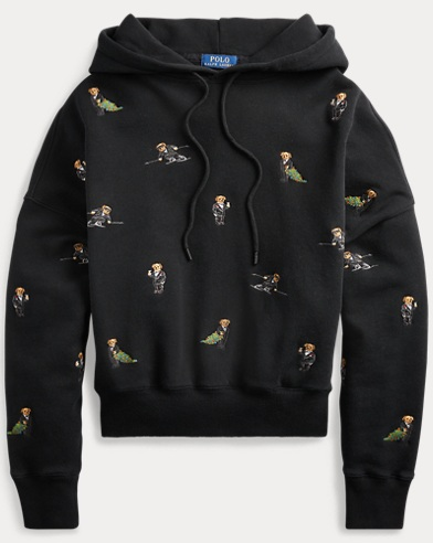Polo Bear Fleece Hoodie