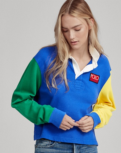 Cropped Rugby Shirt