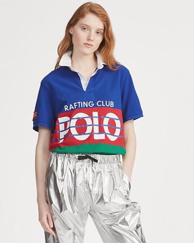 Hi Tech Cotton Mesh Polo Shirt