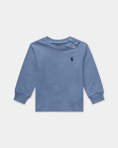 Cotton Long-Sleeve T-Shirt