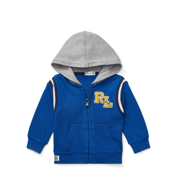Ralph Lauren Cotton French Terry Hoodie Sapphire 3M