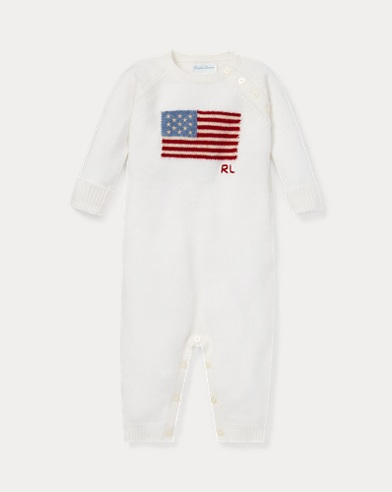 Flag Cashmere Coverall