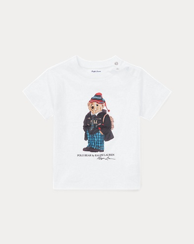 University Bear Cotton T-Shirt