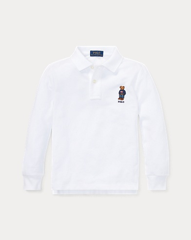 Polo coton piqué Polo Bear