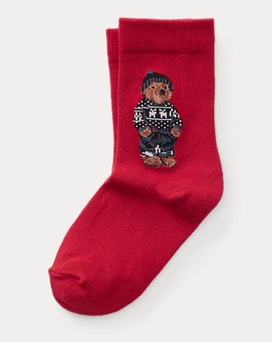 Ski Bear Crew Socks