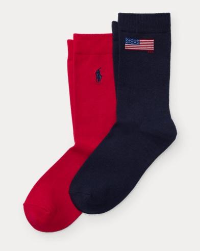 Flag Sock 2-Pack
