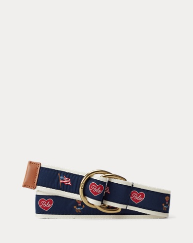 Flag Polo Bear Belt