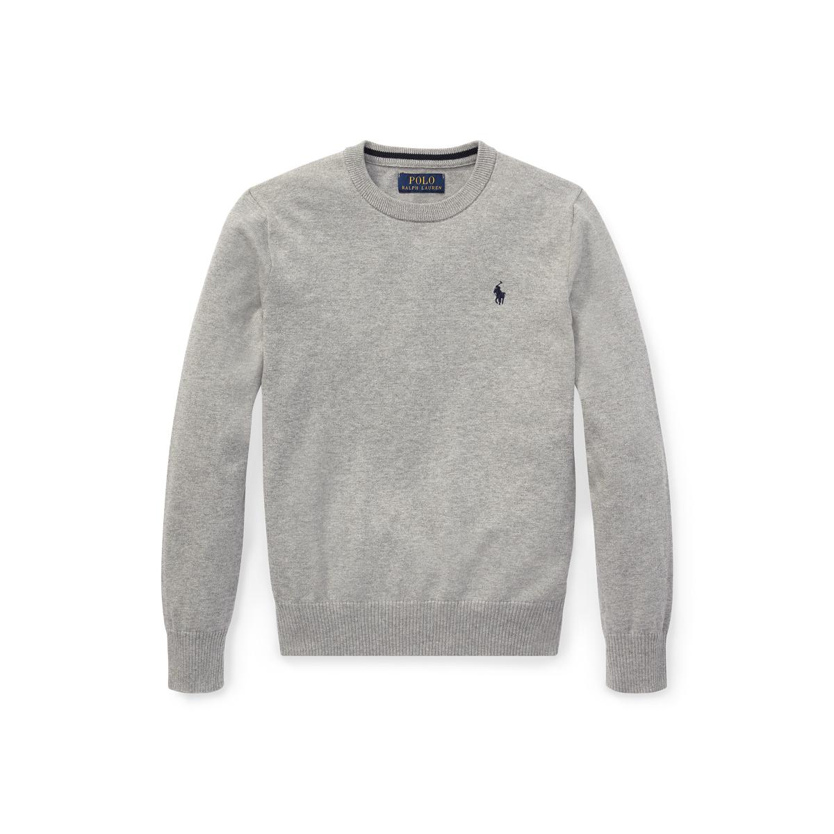 639cf743f Cotton Crewneck Sweater