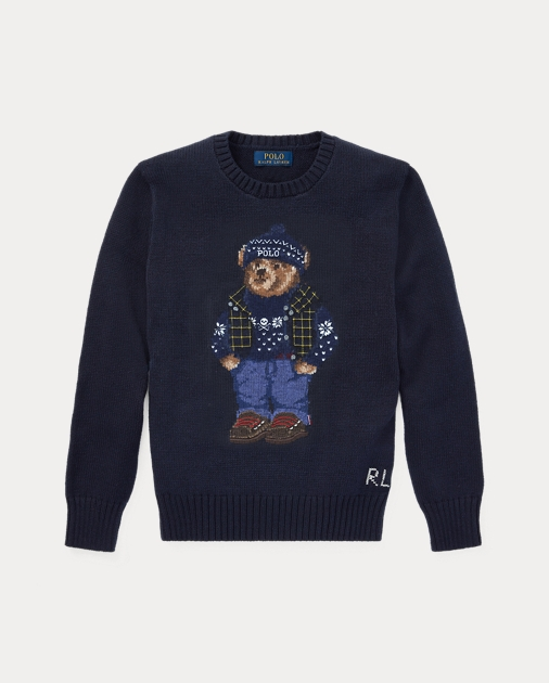 31e3b2c1e Polo Bear Cotton-Wool Sweater
