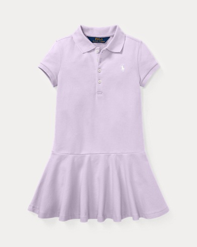Kurzärmliges Polokleid