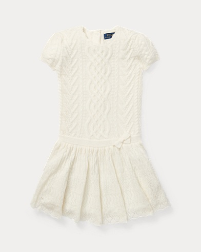 Aran-Knit Cashmere Dress