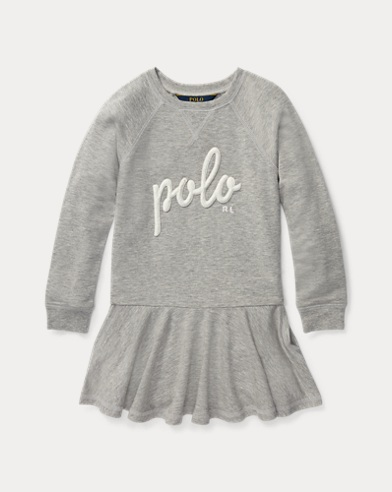 Polo French Terry Dress