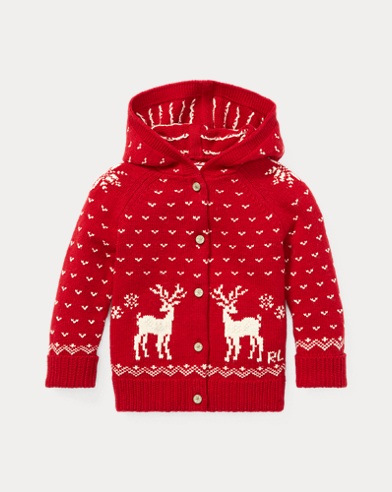 Reindeer Hooded Jumper