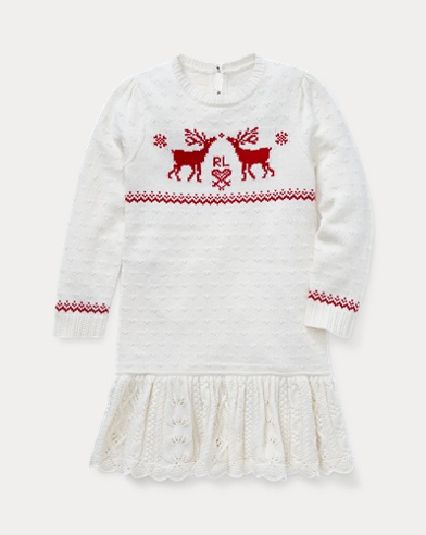 Reindeer Jumper Dress