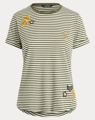 Embellished Jersey T-Shirt