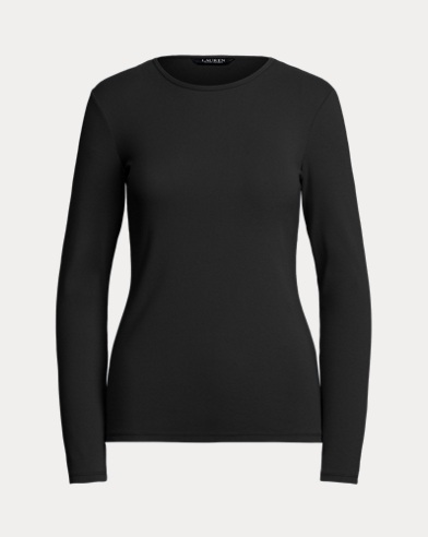 Stretch Long-Sleeve T-Shirt