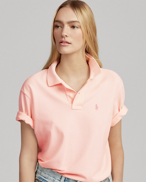 Pink Pony Big Shirt Polo