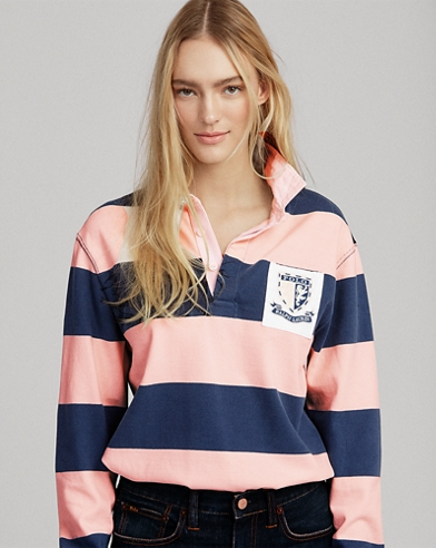 Pink Pony Jersey Rugby Shirt