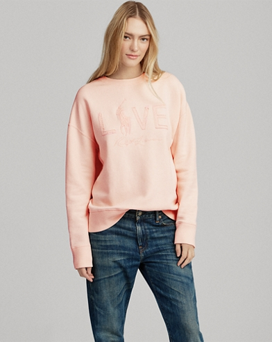 Pink Pony Fleece Pullover