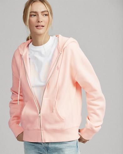 Pink Pony Fleece Zip Hoodie