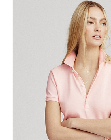 Pink Pony Slim Polo Shirt