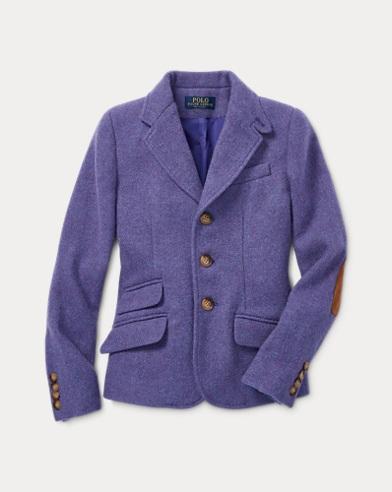 Chaqueta de montar de lana