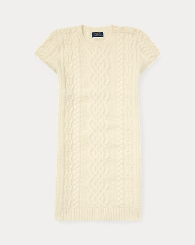 Aran Cashmere Sweater Dress