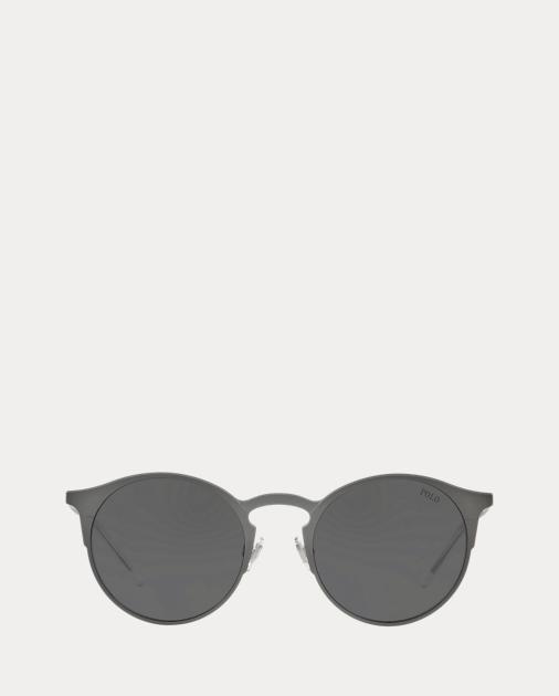 a6e9c7400 Polo Ralph Lauren Round Metal Sunglasses 1