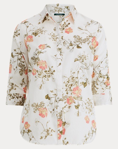 Sateen Button-Down Shirt