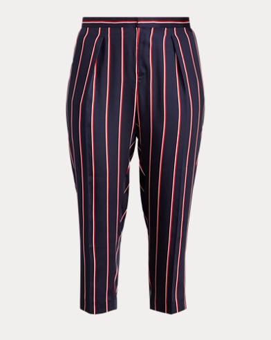 Twill Straight-Leg Pant