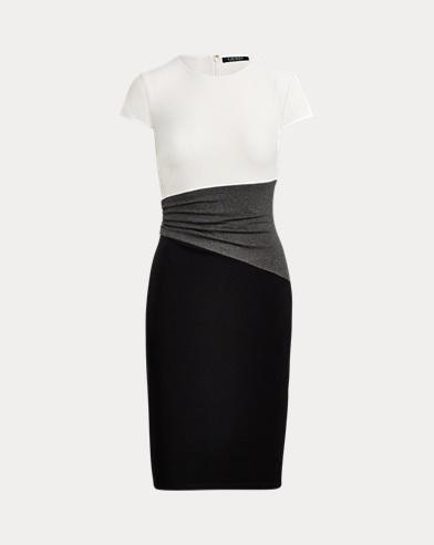 Color-Blocked T-Shirt Dress