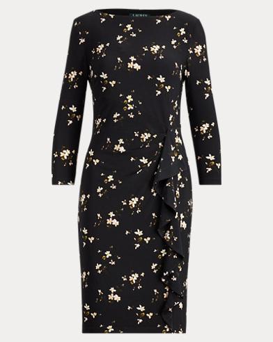 Ruffled Jersey Dress. Lauren