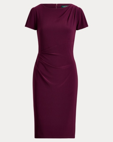 Floral-Print Jersey Dress