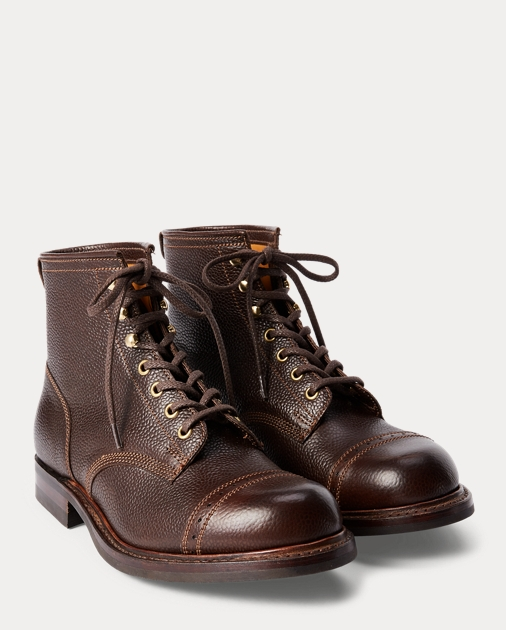 RRL Pebbled Leather Boot 2