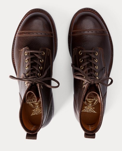 RRL Pebbled Leather Boot 3