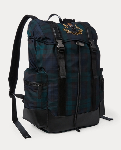 fff7e3487d8c Polo Ralph Lauren Polo Bear Tartan Backpack 2