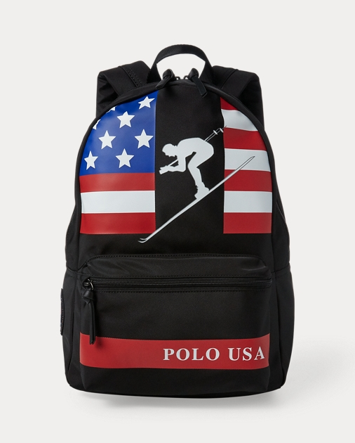 Downhill Skier Backpack by Ralph Lauren