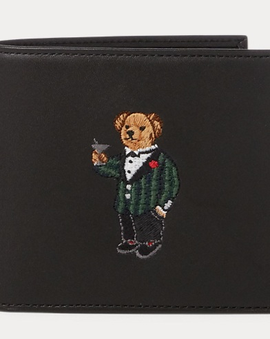 Polo Bear Billfold Wallet