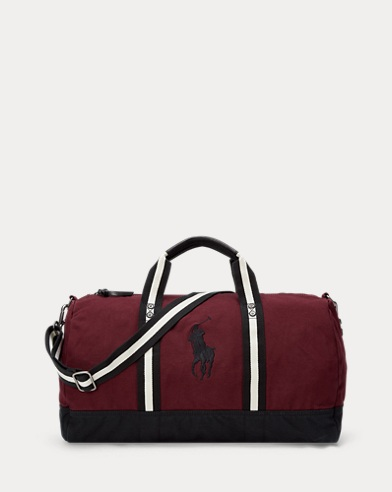 Big Pony Canvas Duffle