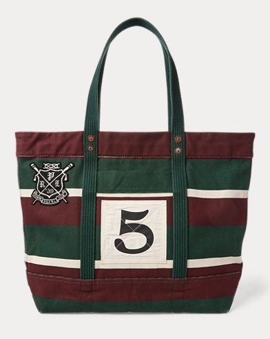 Rowing Canvas Tote