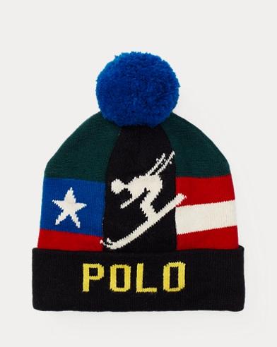 Bonnet skieur alpin