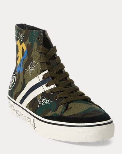 Sneaker Solomon camouflage