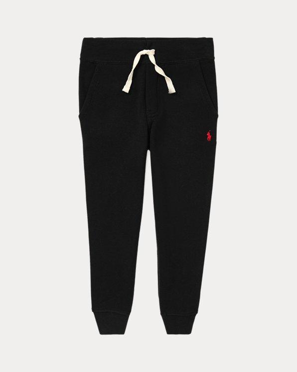 폴로 랄프로렌 남아용 조거 팬츠 Polo Ralph Lauren Cotton-Blend-Fleece Jogger,Polo Black