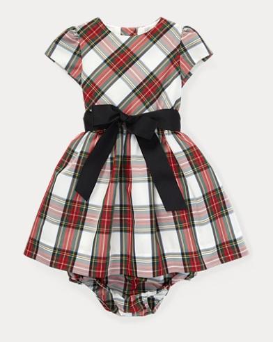 TartanPlaid Dress & Bloomer