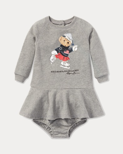 Polo Bear Dress & Bloomer