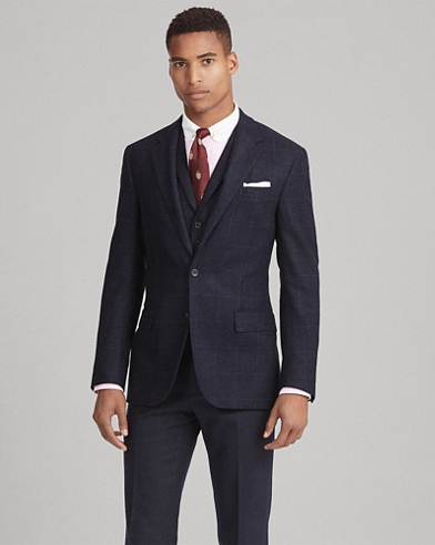 Polo Windowpane Sport Coat